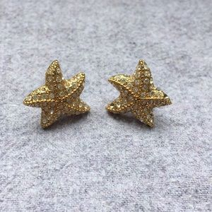 J-Crew Starfish Earings